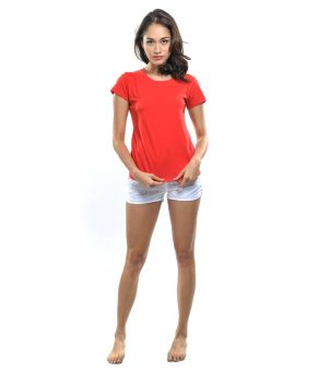 Bench Ladies Undershirt (Red) - 5
