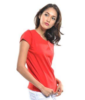 Bench Ladies Undershirt (Red) - 4