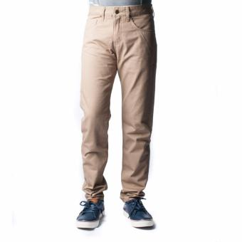 BENCH- LAM3521BR1 Men's Colored Chinos (Light Brown) - 2