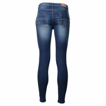 BENCH- LYM9304DB3 Ladies Overhauled Skinny Jeans (Sandblast) - 3