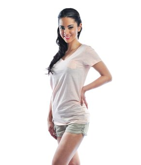Bench V Neck Ladies Undershirt (Cream) Price Philippines