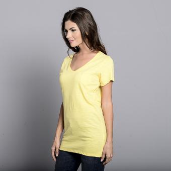Bench V Neck Ladies Undershirt (Yellow) - 2