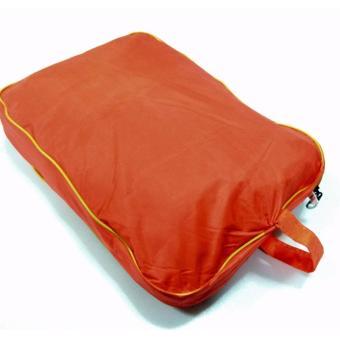 Best Quality Motorcycle riding rain coat suit with pantsXXXL(Orange) - 4