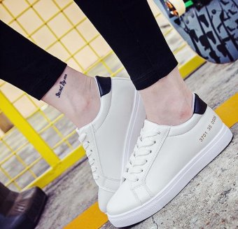 BIGCAT new fashion sneakers for women and girls with white colorKorean style casual shoes - intl