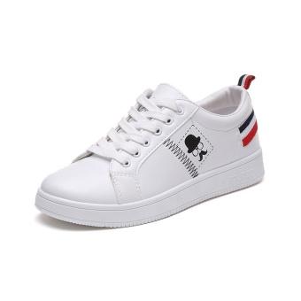 BIGCAT women flat shoes sports sneakers running shoes white - intl - 2