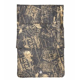 Bioworld Harry Potter Marauder's Map Mischief Managed Flap Wallet - 3