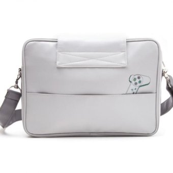 Bioworld Sony Playstation Console Shaped Messenger Bag - 2