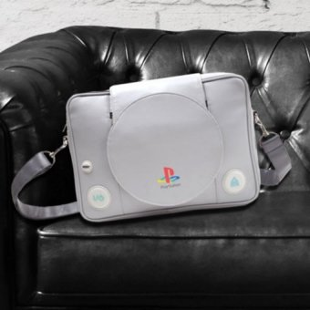 Bioworld Sony Playstation Console Shaped Messenger Bag - 4