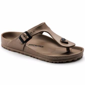 Birkenstock Gizeh Eva Flat Slippers (Copper) - 4