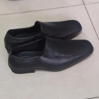 Black Shoes for school and formal attire size 44' no need to shine - 2