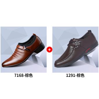 Mens Crocodile Lines Pointed Business Source · Black versatile Korean style business suits .