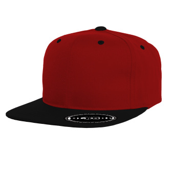 BLKSHP Contrast Color Snapback (Red/Black)