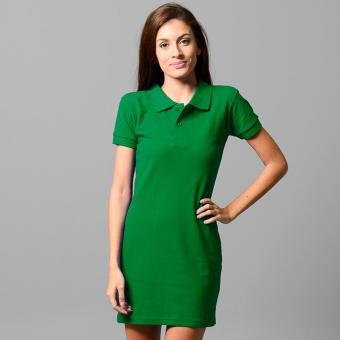 BLKSHP Polo Shirt Mini Dress (FernGreen) - 2