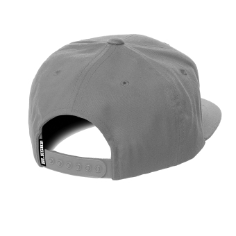 BLKSHP Solid Blank Plain Snapback (Grey) - picture 2