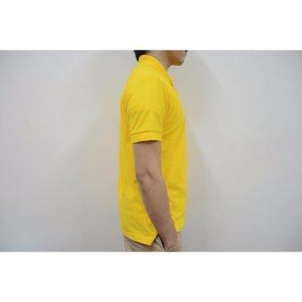 Blue Corner Men's Plain Polo Shirt (Blue) - 4