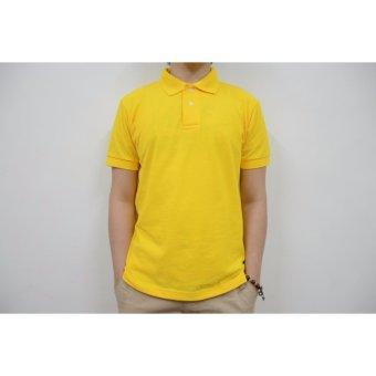 Blue Corner Men's Plain Polo Shirt (Blue) - 2
