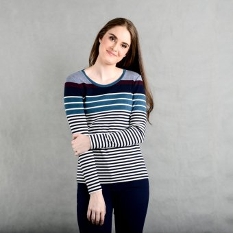 Blued Xuby X-38 A Ladies' Pullover Tee (Wine)
