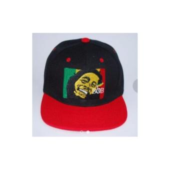 Bob Marley Baseball Cap (Black/Red) Price Philippines