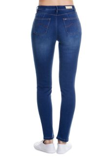 Bobson Women's Regular Waist Pants (Indigo) - picture 2