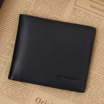 brand genuine leather rifd wallet Newly fold RFID blocking walletfor men protection credit card mens wallet credit card holder -