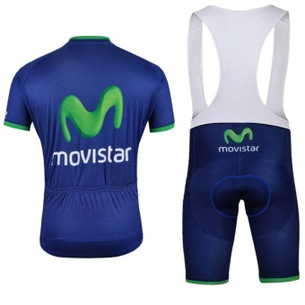 Brand Summer Quick Dry Short Sleeve Top Cycling Jersey And BibPants Set - intl - 2