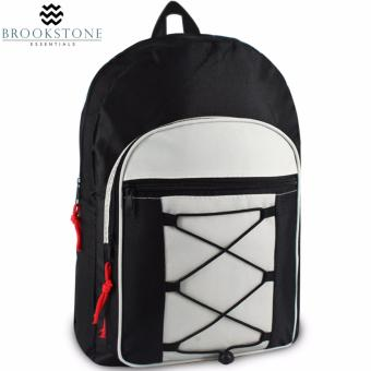 Brookstone Darryl Whisler Daypack Backpack (Silver)