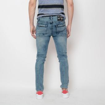 Bum Men's Fashion Denim Pants (Indigo ) - 3