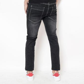 Bum Men's Basic Denim Pants (Black)