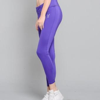 BUY 1 TAKE 1 Outperformer Casual Yoga Leggings with Extra Stretchand Dryperform (Vivid Violet and Military Gray) - 2