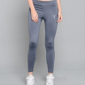 BUY 1 TAKE 1 Outperformer Casual Yoga Leggings with Extra Stretchand Dryperform (Vivid Violet and Military Gray) - 3