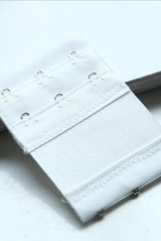Buytra Bra Extender 2 / 3 Hooks Clip On Strap Soft White