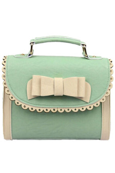 Buytra Handbags Leather (Green)
