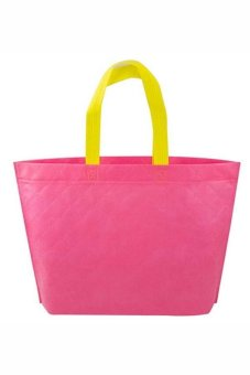 Buytra Shopping Bag Eco Travel Reusable Bags (Pink)