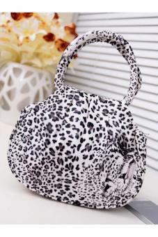 Buytra Women Handbag Shoulder Bags Black Leopard