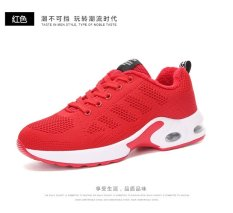 BYL-S korean women casual flat mesh shoes running sneakers (Red) d84e262fb0