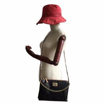 Calvin Klein Signature Shoulder Bag ( Black ) - 2