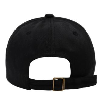 Cap City Korean Style with NY embroidery and 2 Ring Pirce Design Baseball Cap (Black) - 3