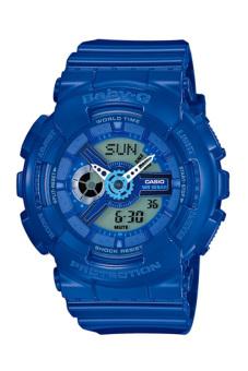 Casio Baby-G Women's Blue Resin Strap Watch BA-110BC-2A