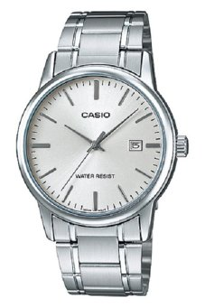 Casio MTP-V002D-7A Men's Watch (Silver)