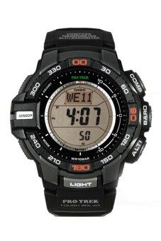 Casio Pro-Trek Men's Black Resin Strap Watch PRG-270-1