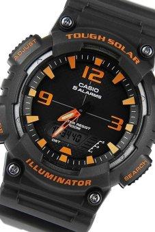 Casio Tough Solar Illuminator Men's Black Resin Band WatchAQ-S810W-8AVDF - 2