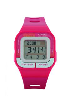 Casio Unisex Pink Resin Strap Watch SDB-100-4ADF