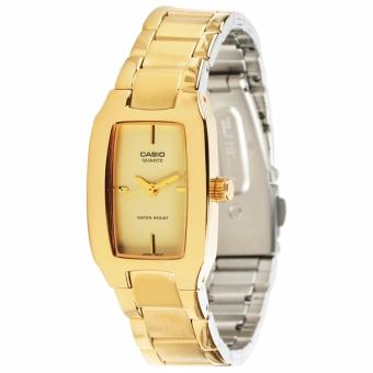 Casio Vintage Women's Gold Stainless Steel Strap WatchLTP-1165N-9CRDF