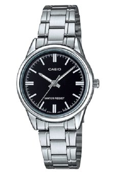 Casio Women's Silver Stainless Steel Strap Watch LTP-V005D-1A