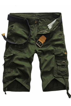 Casual Army Shorts (Green)