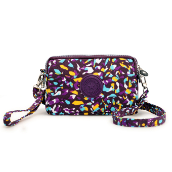 Casual nylon cross-body women's bag women's wallet (Fish)