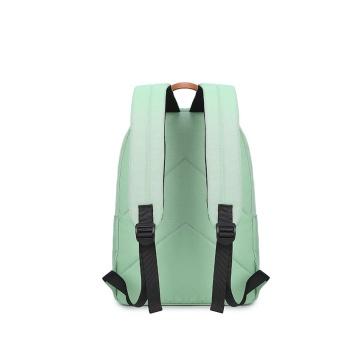 Casual Solid Women Backpack School Bag Large Capacity For Teenagers Girls Simple Travel Bags Lady Back Pack Bagpack (Black) - intl - 3