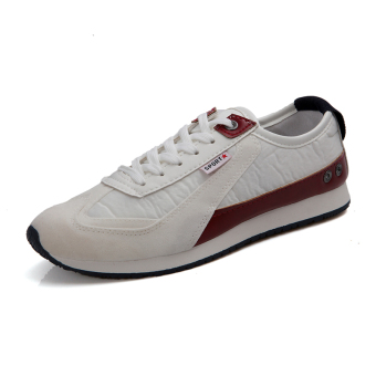 Casual Sport Fashion Sneakers -White