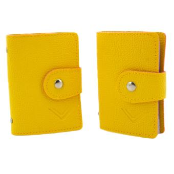 Cava Business ID Credit Card Holder Set of 2 (Yellow) Price Philippines