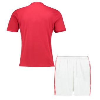 caxa Manchester United 2016-17 Home Red Kit Shirt & ShortsSoccer Jersey - 2